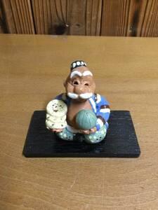 オブジェ 人形 陶製