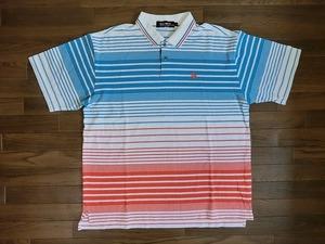le coq sportif ルコック スポルティフ ゴルフウェア ポロシャツ QG1810 L USED