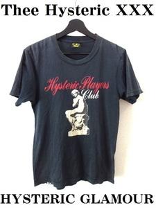 Thee Hysteric XXX:ジィ ヒステリック トリプルエックス■プリント Tシャツ■黒■Ssize■HYSTERIC GLAMOUR:ヒステリックグラマー