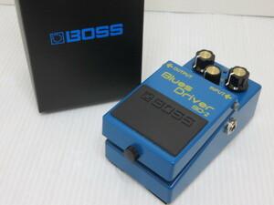 【中古品】 ボス BOSS オーバードライブ BluesDriver ブルースドライバー エフェクター BD-2 〇YR-12793〇