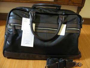 新品 エース 2WAY ボストンバッグ ブラウン 大容量 ブラック ショルダー付 定価26400円 5466701