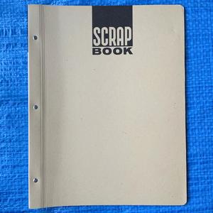 スクラップブック SCRAP BOOK KOKUYO コクヨ ラ-40 A4 未使用 少々の汚れ傷みあり
