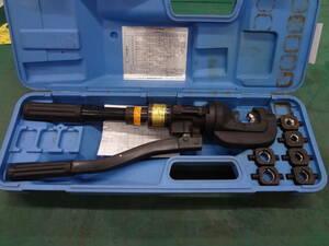 ●泉精器 T形コネクタ用 手動油圧式 圧着工具 15号B  イズミ IZUMI ●0