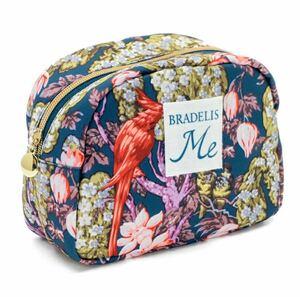 BRADELIS New York ブラデリス ニューヨーク メイクアップポーチ 中 ボタニカル 化粧ポーチ 花柄 フラワー
