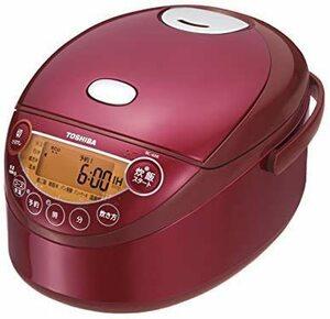 おすすめ!お買得!新品東芝 3.5合 IHジャー炊飯器 備長炭鍛造かまど釜(グランレッド) RC-6XK(R)