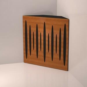 【新品 4枚セット】オーディオ アコースティックパネル ルームチューニング 調音パネル 大判 吸音材 遮音 防音 ベーストラップ型