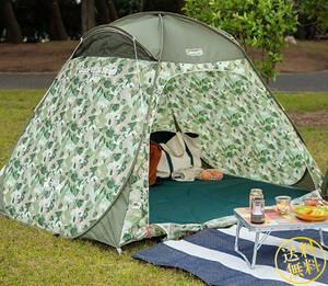 【風通し抜群のメッシュサンシェード】 超簡単設営 クィックアップIGシェード ポップアップテント キャンプ 3人用 ピクニック コールマン