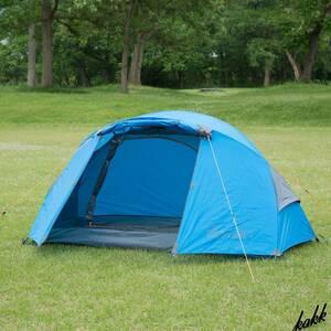 【多機能ソロドームテント】 アウトドア レジャー キャンプ ツーリング 旅行 1人用 ソロ 軽量 コンパクト 簡単設営 BUNDOK