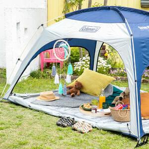 【防虫効果のあるメッシュサンシェード】 スクリーンIGシェード テント 遮光 UV対策 キャンプ ツーリング 旅行 3人用 4人用 コールマン