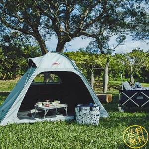 遮光性のメッシュサンシェード 超簡単設営 クィックアップIGシェードプラス テント 日差し対策 キャンプ 3人用 ピクニック コールマン