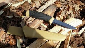 【包丁のように利用できるステンレスナイフ】 刃厚2.5mm 水場での使用 シースナイフ 調理 料理 キャンプ フィッシング デザート