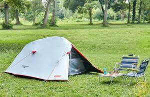 【2人用ダークルーム仕様】 ペアツーリング可能 ドームテント 超設営簡単 ポップアップ式 日差しカット アウトドア キャンプ コールマン