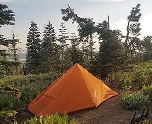 【軽さを追求】 フライシート&インナーテントセット 1人用 ソロ ツーリング 軽量 コンパクト 登山 簡単設営 防水 キャンプ ハイキング