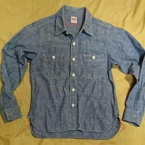 BEAMS BOY ビームスボーイシャンブレーワークシャツ ワンサイズ 日本製