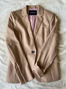 ジャケット ベージュ グリーンレーベルリラクシング スーツジャケット