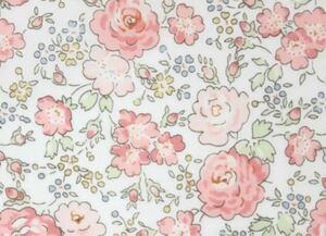 リバティ フェリシテ 約50×18 タナローン サンドウ限定復刻色 ピンク花柄 生地 はぎれ アウトフィット リカちゃん