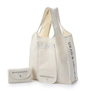 DEAN&DELUCA ディーンアンドデルーカ  エコバッグ  折りたたみバッグ トートバッグ ナチュラル 新品 送料込み