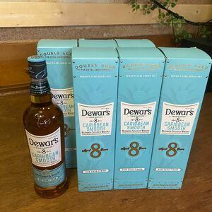 限定品 デュワーズ カリビアンスムース8年 6本 スコッチウイスキー 箱付き