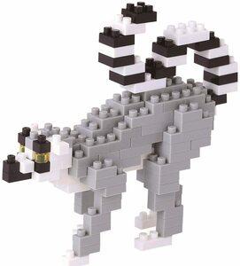 新品 送料無料 ナノブロック ワオキツネザル NBC_166 猿 モンキー nanoblock  おもちゃ・知育玩具 カワダ