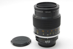 【ランクC】 ニコン Nikon Ai Micro NIKKOR 105mm F4 (#160)