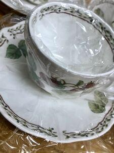 ★★おすすめ★★ノリタケオーチャードガーデンティー・コーヒー碗皿(カップ&ソーサー)5客セット