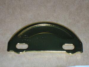 ジャンク  即決 撮影用小道具 円盤 プレスタイプ ゴールド ジャンク 63