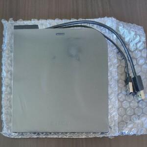 【ポータブル DVDドライブ】バッファロー/BUFFALO USB2.0 外付け フラットデザイン