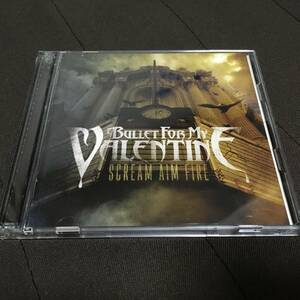 CD+DVD Bullet For My Valentine Scream Aim Fire Deluxe Version 国内盤 帯付 ブレット・フォー・マイ・ヴァレンタイン