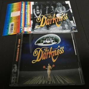 CD+DVD ステッカー付 The Darkness Permission To Land 最強版 国内盤 帯付 ケース割れ ザ・ダークネス