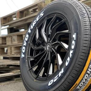 200系ハイエース レジアスエース 16インチタイヤホイールセット 車検対応 新品 オルフェ TOYO トーヨー H20 215/65R16 ホワイトレター