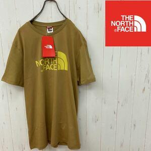 【新品】ノースフェイス  半袖 Tシャツ US並行輸入 プリティッシュカーキ
