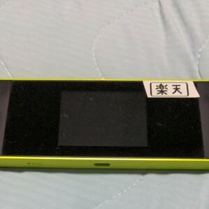 SIMフリー WiMAX 楽天モバイル設定済  Wi-Fiルーター W05