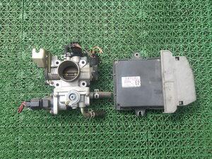 アルトラパン HE21S スロットルボディ エンジンコンピューター 33920-75HK0