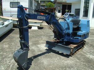 Yumbo,1 ton Class, Kubota,KH5H, iron caterpillar, operation verification excellent immediately use possibility