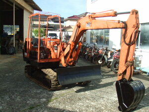 Yumbo,3 ton Class,IHI IS-010A, iron caterpillar, operation verification excellent, immediately use possibility