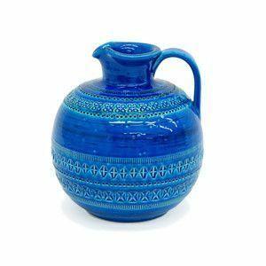 IZ47658S○BITOSSI ビトッシ リミニブルー フラワーベース L No.114 花瓶 ディスプレイ雑貨 アルド ロンディ イタリア製