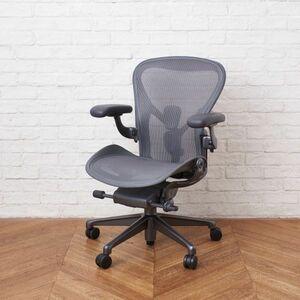IZ48631F○2020年製 Herman Miller アーロンチェア リマスタード Bサイズ デスクチェア 昇降式 椅子 ポスチャーフィット ハーマンミラー