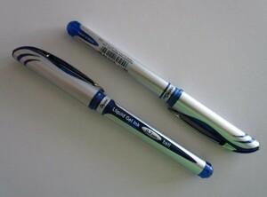 ☆ BL57-C(青)×2本×倍の4本セット ぺんてる ボールペン【未使用/筆記チェック済み】端数ポイント交換