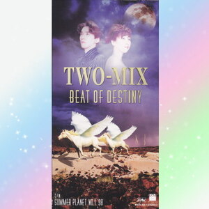 TWO-MIX BEAT OF DESTINY シングル CD 8cm