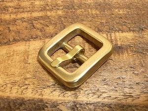 バックル 真鍮 無垢 ブラス 15mm レザー ベルト 革 1.5cm 美錠 尾錠 日型 カスタム レザークラフトに 102