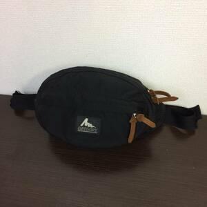 美中古 USA製 グレゴリー テールメイトXS ブラック 黒 ボディバッグ