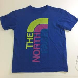 THE NORTH FACE ビッグロゴ Tシャツ Sサイズノースフェイス ブルー