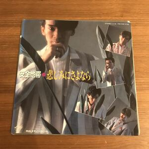 Goodbye to Safe Zone Sadness No Comment Matsui Matsuo Matsushiri Tamaki Hiroya Bookie Wako ATOZ 7 inch record single 210523