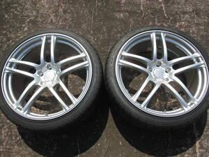 ① ヨコハマ AVS モデルT5 20インチ (9J+42) 2本セット ホイール・タイヤ新品