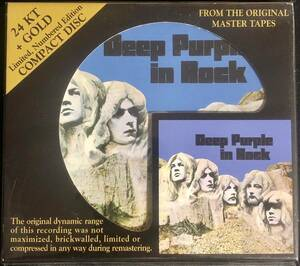 Audio Fidelity!高音質盤!DEEP PURPLE/ディープ・パープル/ IN ROCK/ 2009年