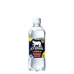 アイシー・スパーク フロム カナダドライ レモン PET 490ml 24本 (24本×1ケース) ペットボトル 炭酸水【送料無料】