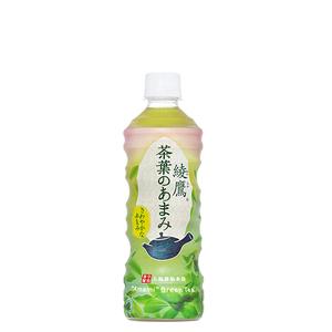 綾鷹 茶葉のあまみ 525ml 24本 (24本×1ケース) 緑茶 ペットボトル PET 安心のメーカー直送 コカコーラ社【送料無料】