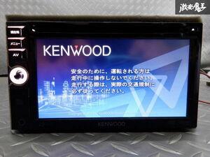 保証付 KENWOOD ケンウッド メモリーナビ MDV-333 地図データ 2011年 DVD再生 CD再生 ワンセグ内蔵