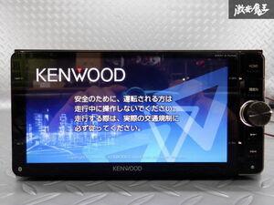保証付 KENWOOD ケンウッド 彩速ナビ メモリーナビ MDV-Z701W 地図データ 2018年 DVD再生 CD再生 地デジ内蔵 カーナビ