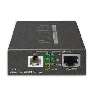 電話線で高速長距離LAN VDSL2 VC-231G 2台セット